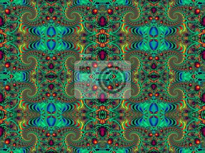Schöne Hintergrund mit Spirale Muster.