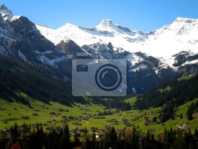 Schöne Schweizer Alpen