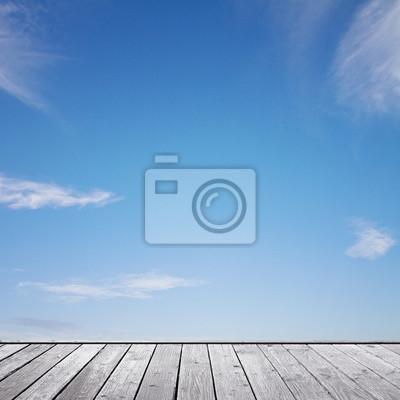 schönen blauen Himmel