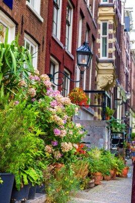 Sticker Schönes Haus in Amsterdam