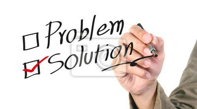Schreiben Sie die Lösung