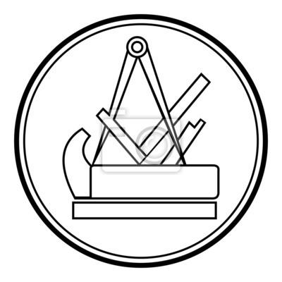 Schreiner Zeichen schreiner symbol zeichen emblem v2 notebook sticker
