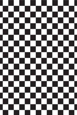 Schwarz -Weiß- Zelle, ein Schachbrett. Textur