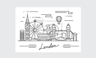 Schwarze london-symbol