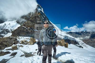 Schweiz, Trek bei Matterhorn.