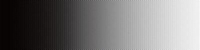 Sticker Screentone Graphics_Halftone Gradation_Black
