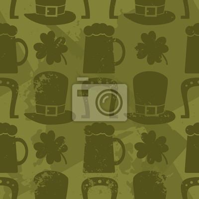 Seamles St. Patricks Day Pattern