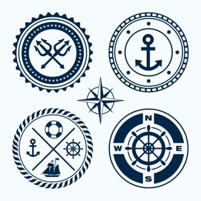 Sticker Segelzeichen
