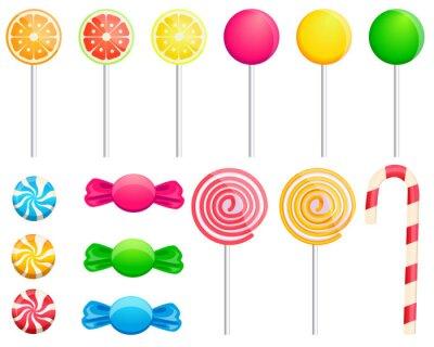 Sticker Set candies