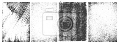 Sticker Set of grunge patterns