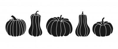 Sticker Set of pumpkins