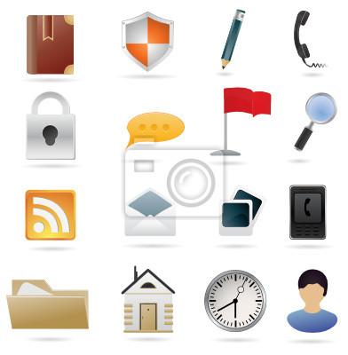 Set von Web-Icons Vektor-Illustration für Ihr Design