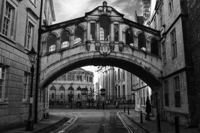 Sticker Seufzerbrücke in Oxford.