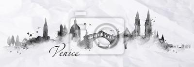 Silhouette ink Venice
