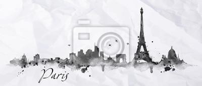 Silhouette Tinte Paris