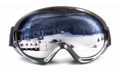 Sticker Skibrille