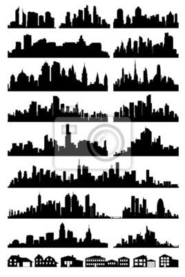 Skyline der Stadt Vektor
