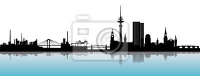 Skyline Hamburg Alster
