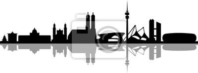 Skyline Munich Cityscape
