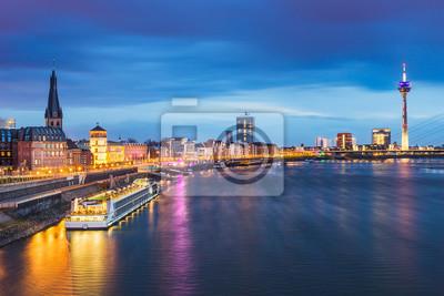 Skyline of Dusseldorf, Germany