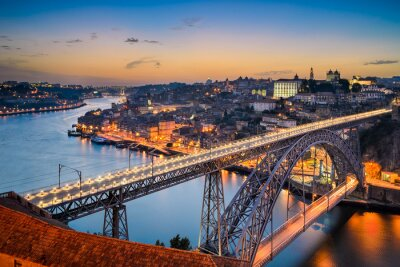 Skyline von Porto, Portugal