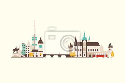Skyline von Prag