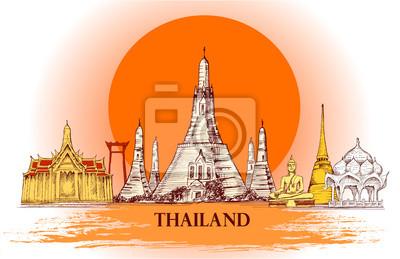 Skyline von Thailand