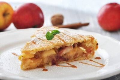 Sticker Slice of homemade apple pie