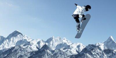 Sticker Snowboard Sport