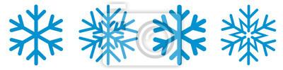 Sticker Snowflakes Set