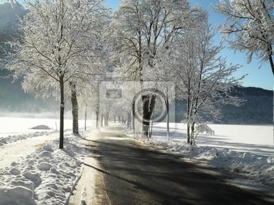 Snowy-Straße in Deutschland