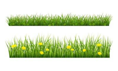 Sticker Sommer Gras