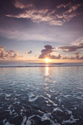 Sticker Sonnenuntergang auf Bali