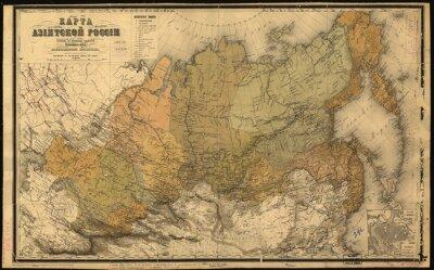 Sticker Sowjetunion, UdSSR, Karte