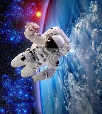 Spaceman Astronaut Suit Erde