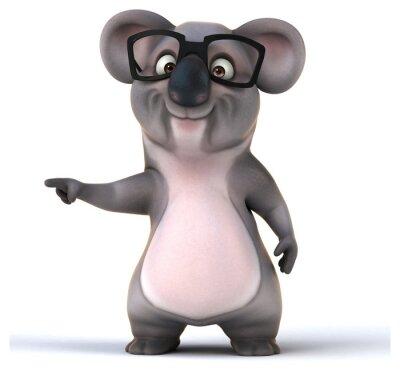 Sticker Spaß-Koala