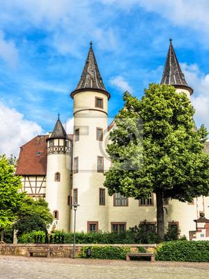 Sticker Spessart Museum Und Schneewittchen Schloss In Lohr Am Main