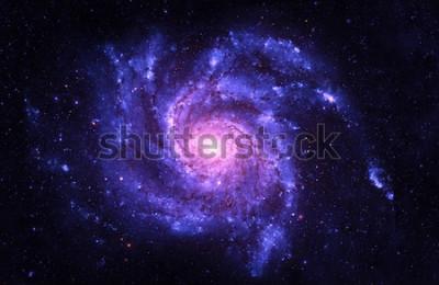 Sticker Spiral Galaxy - Elemente dieses Bildes von der NASA eingerichtet