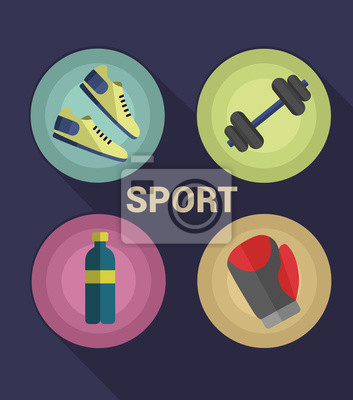Sport Icons Vektor-