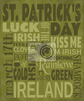 St. Patrick 's Day Grußkarte