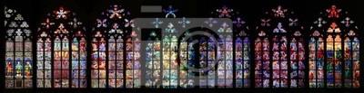 Sticker St Vitus Stained Glass Window Sammlung