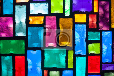 Sticker Stained Glass