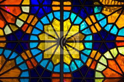 Sticker Stained glass window