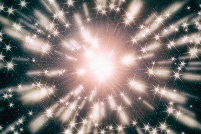 Star Splash mit Sternen im Hypersprung.