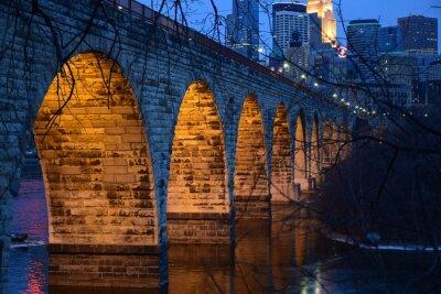 Sticker Steinbogenbrücke