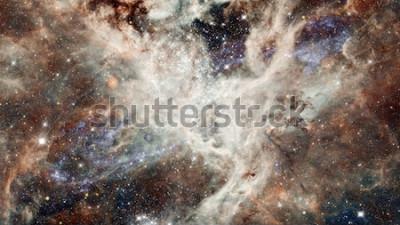 Sticker Sternenklarer Himmel des Nebelflecks Nacht in den Farben. Multicolor Weltraum. Der Weltraum ist viele Lichtjahre vom Planeten Erde entfernt. Elemente dieses Bildes von der NASA eingerichtet