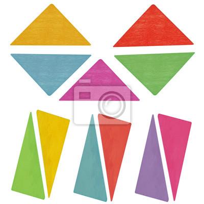 Stock-Foto-bunte-Holz-Kinder-Spielzeug-Geometri-Details