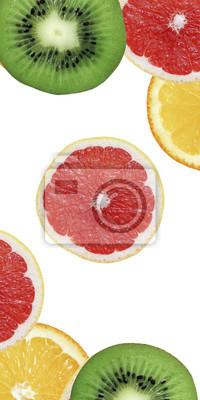 Stock-Foto-bunte-Kiwi-Orange-und-Grapefruit-Hintergrund-von-Obst