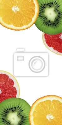 stock-Foto-bunte-Panorama-mit-Orange-Kiwi-und-Grapefruit-Scheiben-gesunde-Lebensmittel-Frucht