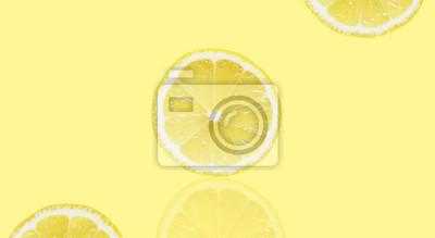 stock-Foto-gelb-Hintergrund-von-Scheiben-Runde-Zitrone-gelb-Textur